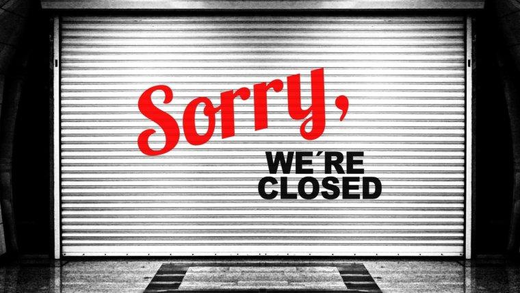 Sorry… Studio bis auf Weiteres geschlossen